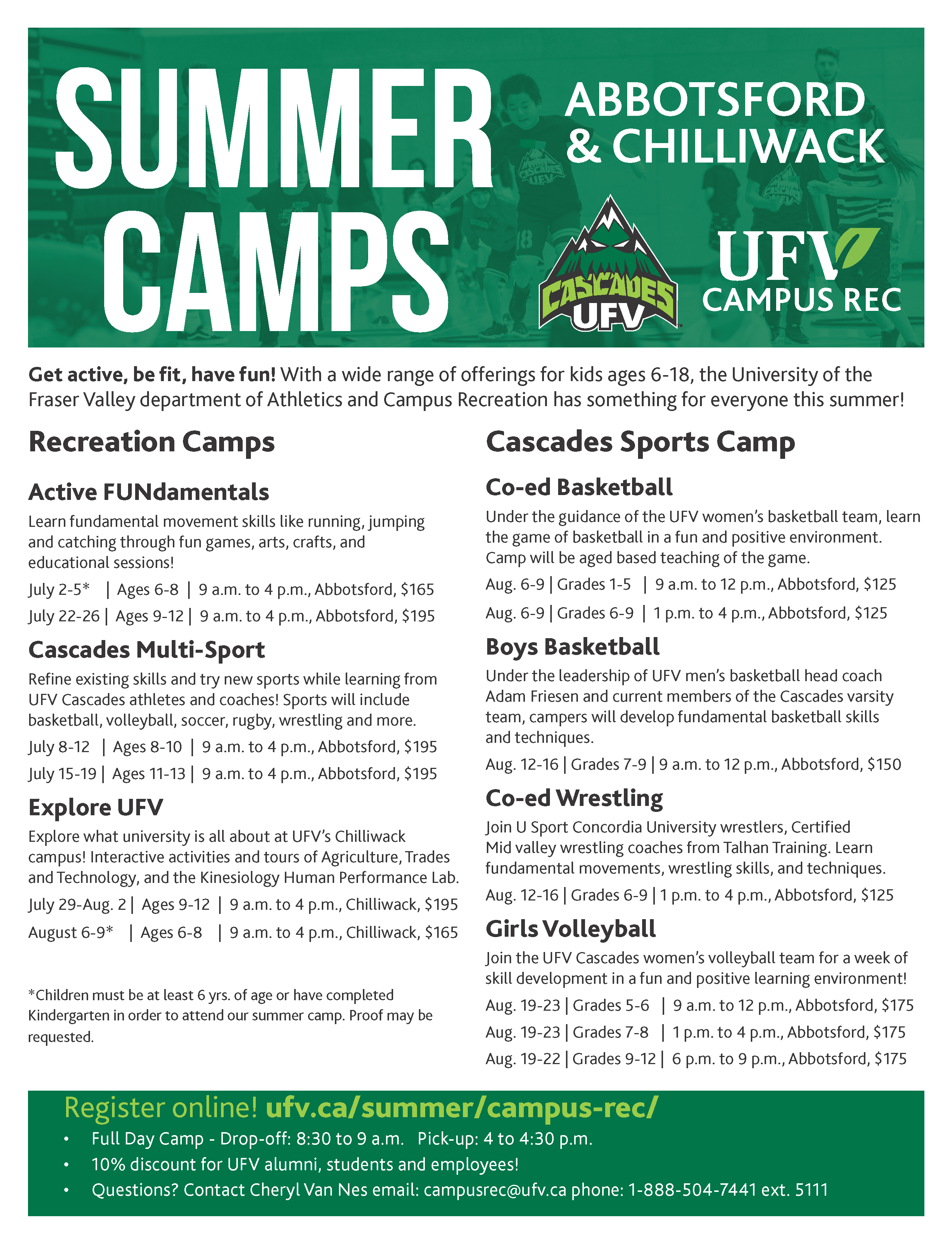 2019 Summer Camp Brochure final